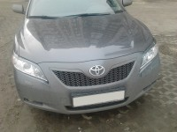 Front lamp trims (eyelashes) long Toyota Camry (V40) Restyling