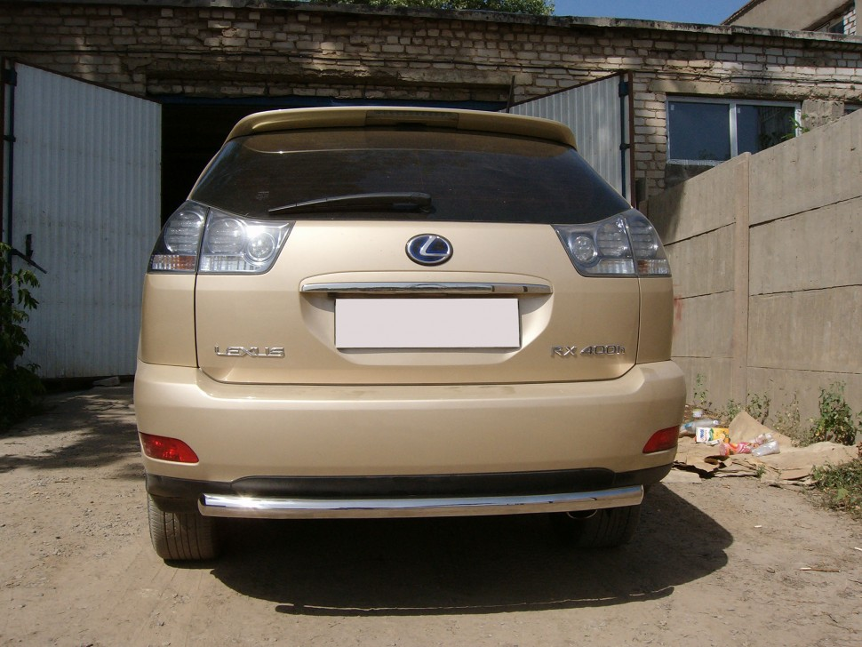Protection of rear bumper pipe Lexus RX 400h (2006 - 2009)