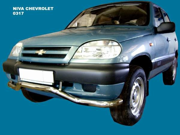 Front bumper protection wave VAZ 2123 Chevrolet Niva (2003 - 2008)