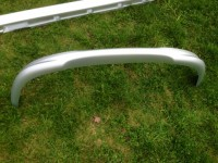 Lining (skirt) of the front bumper