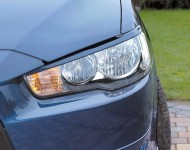 Front lamp trims (eyelashes) Mitsubishi Lancer X