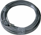 Steel wire rope for winch