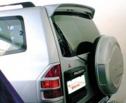 Spoiler without stop lamp for Mitsubishi Pajero III