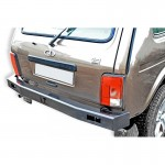 Power rear bumper for VAZ 21214, the Urban 4x4