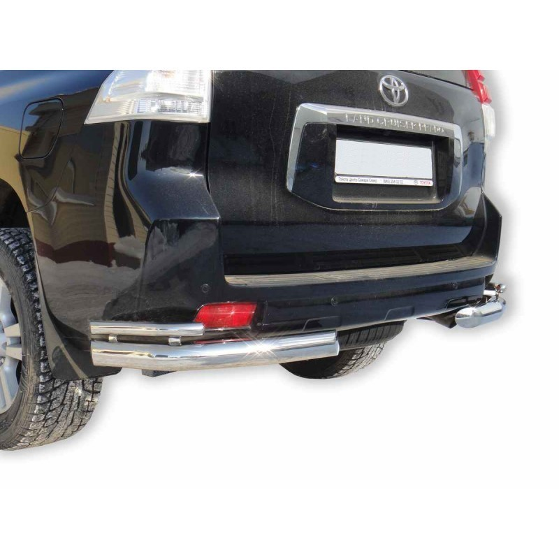 "Protection corner ""Corner double"" d76 Toyota Land Cruiser Prado 150 painted / stainless steel"