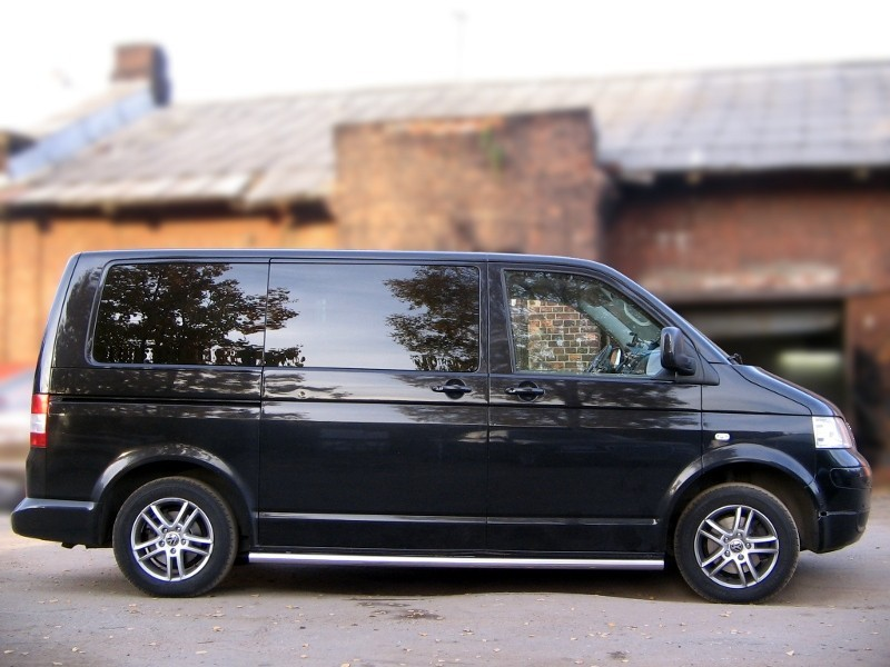 Protection thresholds d60 (with pipe plugs) Volkswagen Transporter T5 (long base) (2003-2009)