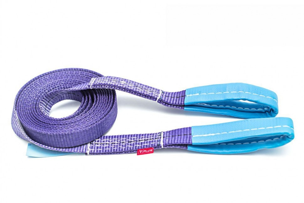 Tow strap 4/6 t (a/m up to 2 m) Loop/Loop, Tplus