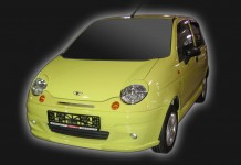 Pad on the front bumper for Daewoo Matiz
