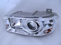 Headlight MAZ-6312A9, 870110 with DRL (daytime running lamp) a lion.