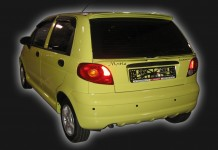 Spoiler upper for Daewoo Matiz