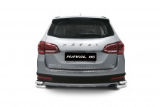 Protection-rear bumper corner double 63/51 mm (PS) HAVAL H6 2014-
