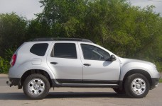 Lining on the doors (moldings) on the door Renault Duster 2012-