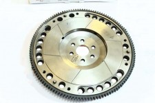 Lightweight flywheel with notches