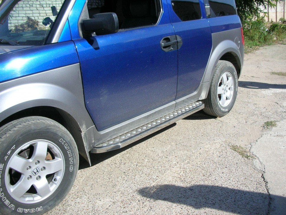 Thresholds with cover sheet Honda Element (2005)
