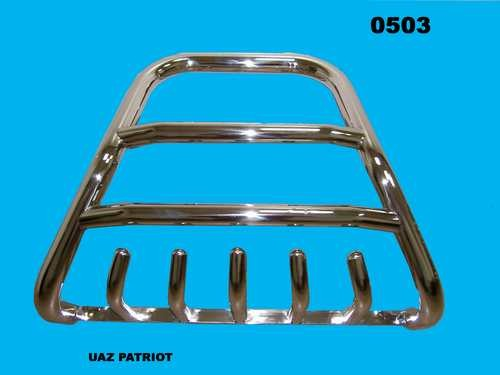 Protection front bumper guard SHARK UAZ Patriot (2005)