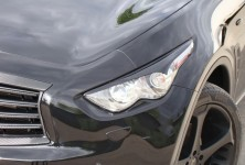 Front lamp trims (eyelashes) Infiniti FX (2nd generation) var number 1