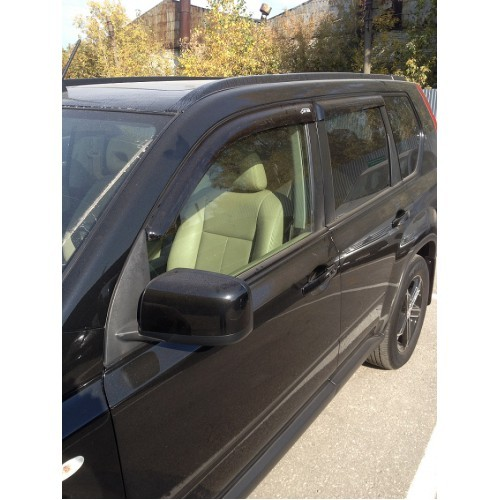 Window deflectors NISSAN X-Trail 2007-2014 V. the body of the T-31