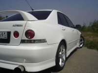 Overlays on tail lights Toyota Altezza (10)