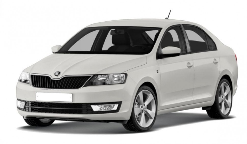 Gas struts bonnet of Skoda Rapid (2012-2015)