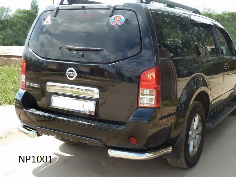 Protection angular pipe Nissan Pathfinder (2010)