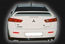 Lining of the rear lights (cilia) for Mitsubishi Lancer X